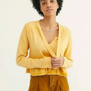 NWT Free People Sweet Jane Pullover